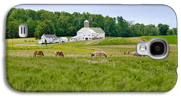 Amish Photographs Galaxy S4 Cases - Farm Life Galaxy S4 Case by Guy Whiteley