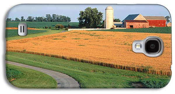 Outbuildings Galaxy S4 Cases - Farm Nr Mountville Lancaster Co Pa Usa Galaxy S4 Case by Panoramic Images