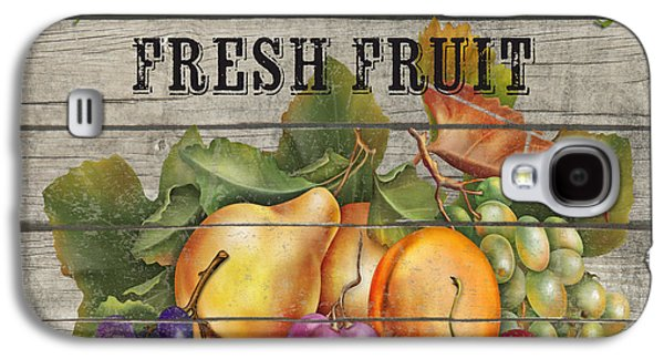 Locally Grown Galaxy S4 Cases - Farm to Table Fruit-JP2631 Galaxy S4 Case by Jean Plout