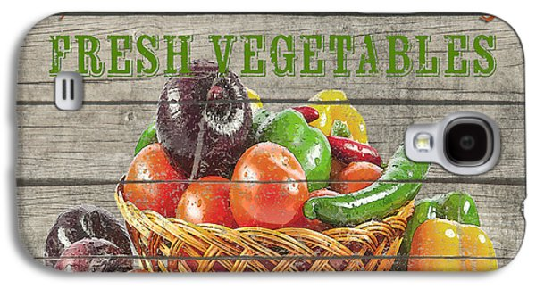 Locally Grown Galaxy S4 Cases - Farm to Table Vegetables-JP2632 Galaxy S4 Case by Jean Plout