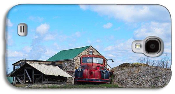 Farm Truck Galaxy S4 Cases - Farm Truck - 1941 Chevy Galaxy S4 Case by Bill Cannon