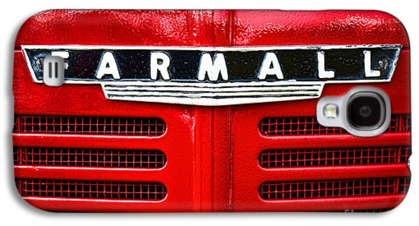 Machine Galaxy S4 Cases - Farmall Galaxy S4 Case by Olivier Le Queinec