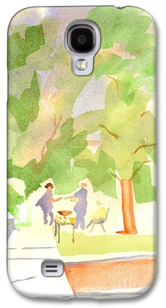 Harvest Time Galaxy S4 Cases - Farmers Market Vll Galaxy S4 Case by Kip DeVore