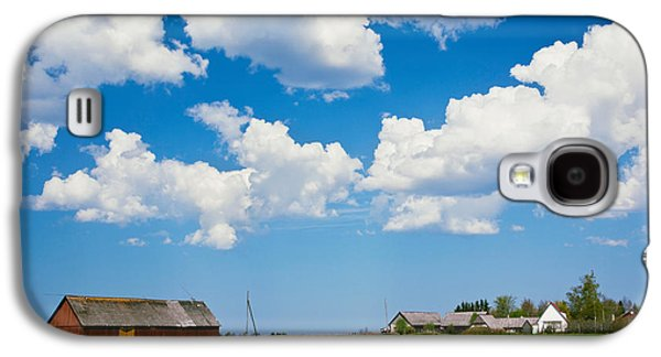 Tallinn Galaxy S4 Cases - Farmhouse In A Field, Loksa, Lahemaa Galaxy S4 Case by Panoramic Images