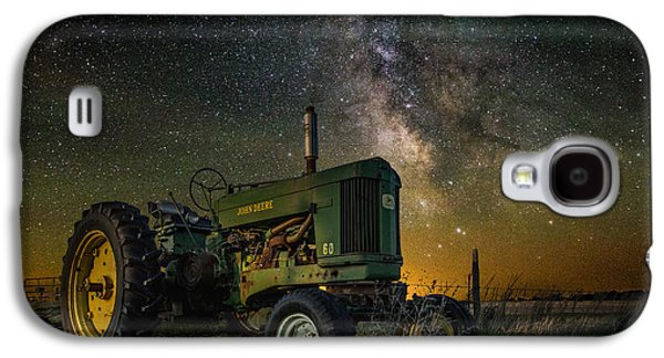 Glow Photographs Galaxy S4 Cases - Farming the Rift 3 Galaxy S4 Case by Aaron J Groen