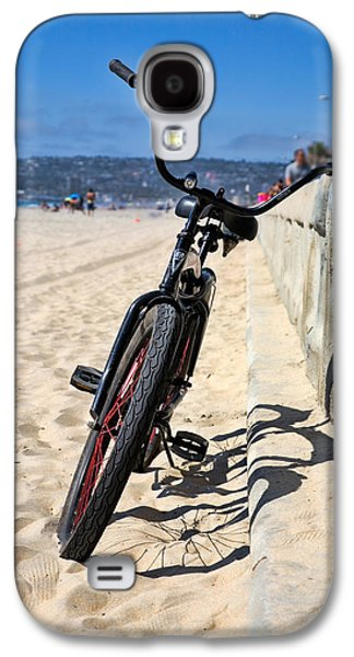 Bicycle Photographs Galaxy S4 Cases - Fat Tire - Color Galaxy S4 Case by Peter Tellone