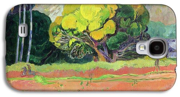 Reproduction Galaxy S4 Cases - Fatata te Moua Galaxy S4 Case by Paul Gauguin