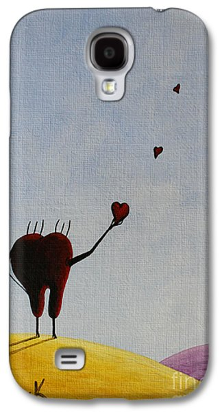 Animation Paintings Galaxy S4 Cases - Favorite Memories Galaxy S4 Case by Shawna Erback