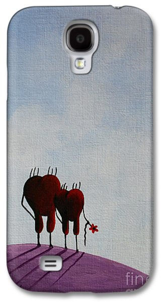 Animation Paintings Galaxy S4 Cases - Favorite Moments Galaxy S4 Case by Shawna Erback