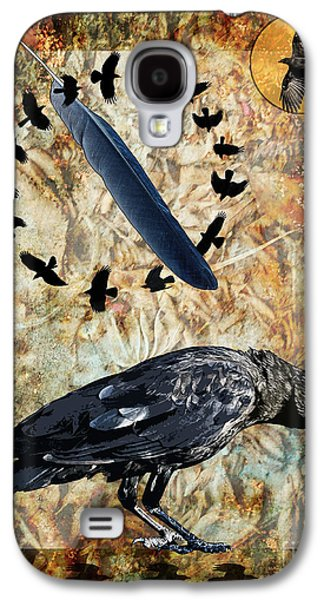 Judy Wood Galaxy S4 Cases - Feather of Remembering Galaxy S4 Case by Judy Wood