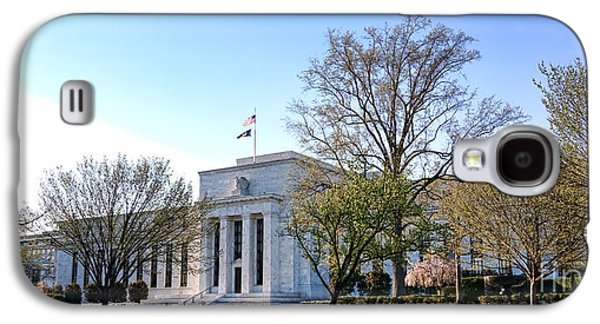 Constitution Galaxy S4 Cases - Federal Reserve Building Galaxy S4 Case by Olivier Le Queinec