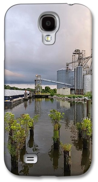 Feed Mill Galaxy S4 Cases - Feed Mill on the River Galaxy S4 Case by Francie Davis