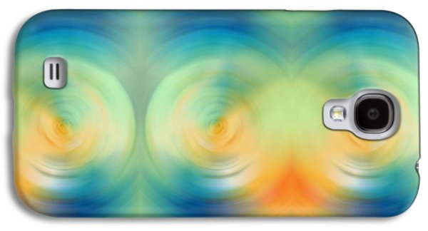 Energy Mixed Media Galaxy S4 Cases - Feel Joy - Energy Art By Sharon Cummings Galaxy S4 Case by Sharon Cummings