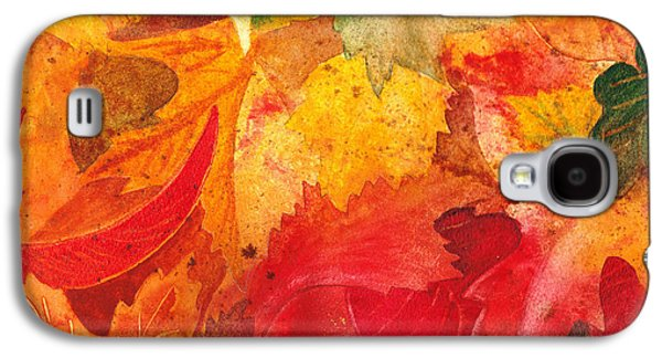 Maple Season Paintings Galaxy S4 Cases - Feeling Fall Galaxy S4 Case by Irina Sztukowski