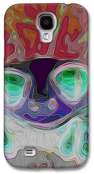 Painter Photo Mixed Media Galaxy S4 Cases - Feeling Froggy v2 Galaxy S4 Case by Jimi Bush