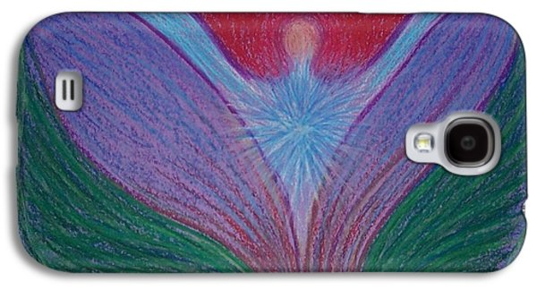 Spiritual Pastels Galaxy S4 Cases - Feeling Surrounded by Love #1 Galaxy S4 Case by Jamie Rogers
