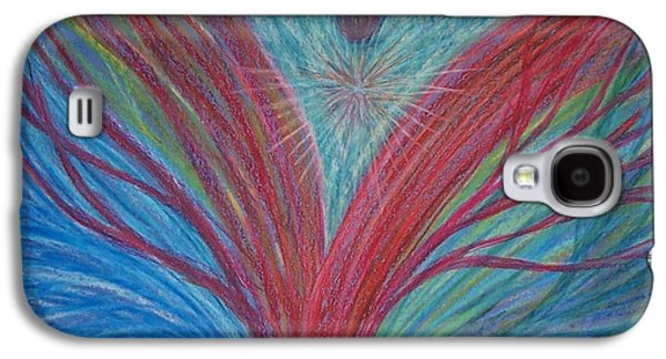 Spiritual Pastels Galaxy S4 Cases - Feeling Surrounded by Love #2 Galaxy S4 Case by Jamie Rogers