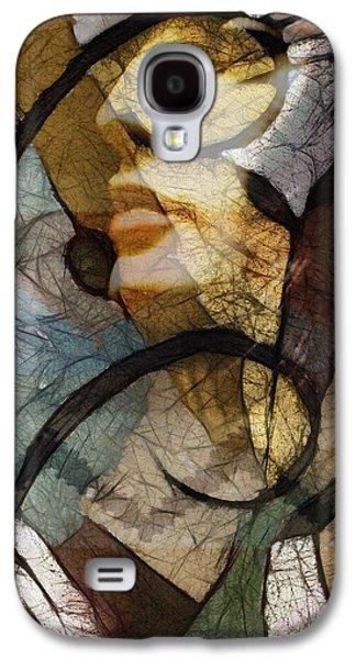 work Digital Galaxy S4 Cases - Feelings Galaxy S4 Case by Ann Croon