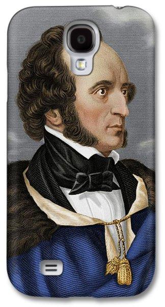 Felix Mendelssohn Galaxy S4 Case by Maria Platt-evans