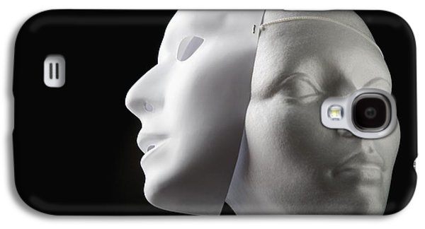 Deceptive Galaxy S4 Cases - Female Mannequin And Mask Galaxy S4 Case by Kelly Redinger