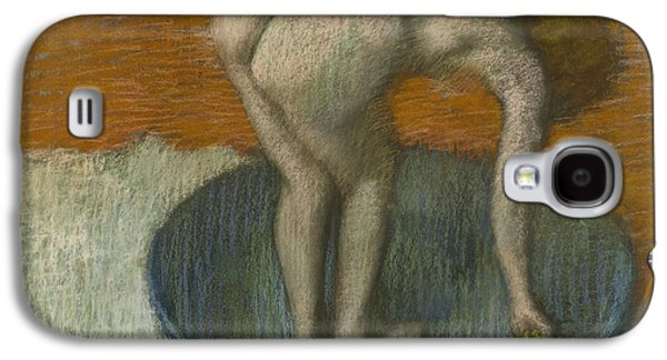 Nudes Pastels Galaxy S4 Cases - Femme Au Tub Galaxy S4 Case by Edgar Degas