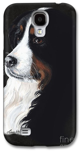 Alluring Paintings Galaxy S4 Cases - Femme Fatail Galaxy S4 Case by Liane Weyers