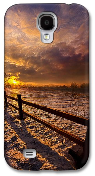 Fence Galaxy S4 Cases - Fence Walking Galaxy S4 Case by Phil Koch
