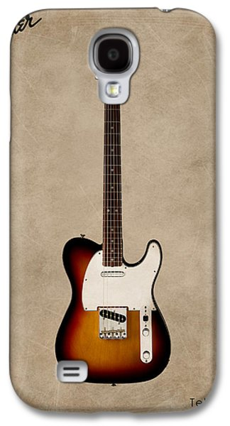 Music Photographs Galaxy S4 Cases - Fender Telecaster 64 Galaxy S4 Case by Mark Rogan