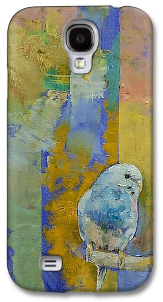 Feng Shui Parakeets Galaxy S4 Case by Michael Creese