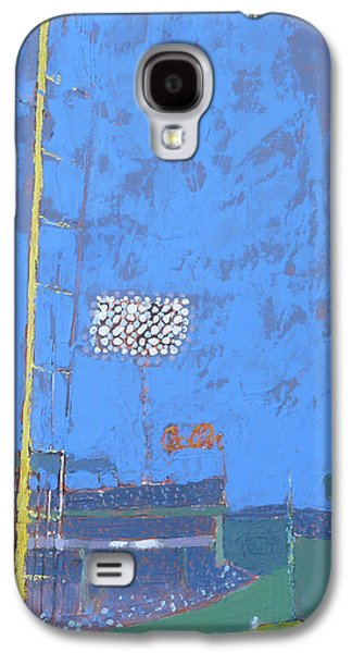 Boston Red Sox Paintings Galaxy S4 Cases - Fenway Fun Galaxy S4 Case by Ann Trainor Domingue