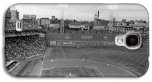Red Sox Galaxy S4 Cases - Fenway Park Photo - Black and White Galaxy S4 Case by Horsch Gallery