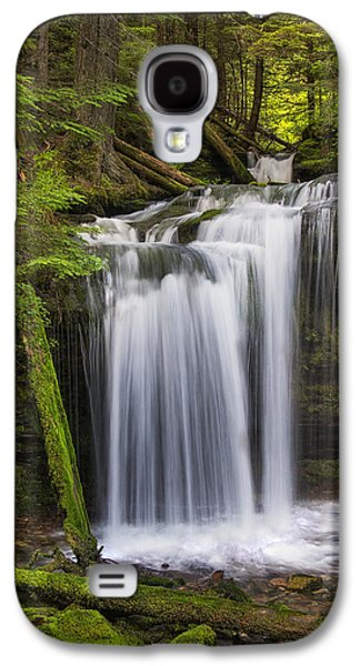 Idaho Photographs Galaxy S4 Cases - Fern Falls Galaxy S4 Case by Mark Kiver
