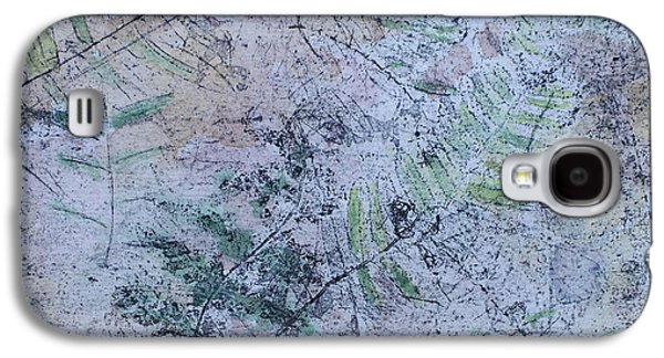 Printmaking Drawings Galaxy S4 Cases - Ferns Galaxy S4 Case by Dawn Daisley