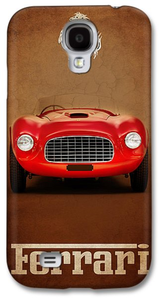 Classic Cars Photographs Galaxy S4 Cases - Ferrari 166 Galaxy S4 Case by Mark Rogan