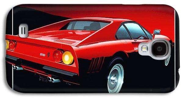 1980s Galaxy S4 Cases - Ferrari 288 GTO  Galaxy S4 Case by Gavin Macloud