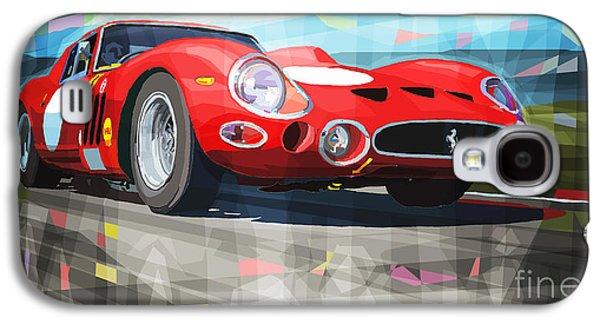Automotive Galaxy S4 Cases - Ferrari 330 GTO 1962 Galaxy S4 Case by Yuriy Shevchuk