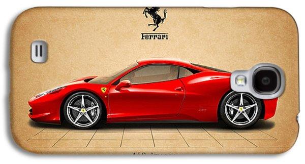 Classic Cars Photographs Galaxy S4 Cases - Ferrari 458 Italia Galaxy S4 Case by Mark Rogan