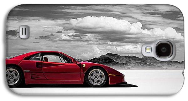 Automotive Digital Art Galaxy S4 Cases - Ferrari F40 Galaxy S4 Case by Douglas Pittman