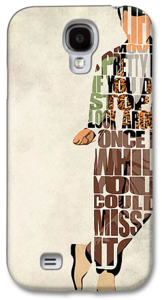Wall Art Prints Digital Art Galaxy S4 Cases - Ferris Buellers Day Off Galaxy S4 Case by Ayse Deniz