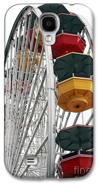 Ferris Wheel Colors Galaxy S4 Case by John Rizzuto
