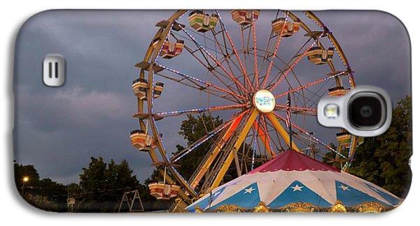 Ferris Wheel Fairground Ride Galaxy S4 Case by Jim West