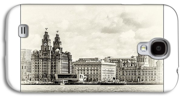 Beatles Galaxy S4 Cases - Ferry at Liverpool terminal Galaxy S4 Case by Karen Lawrence  SMPhotography