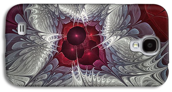 Dimensional Galaxy S4 Cases - Festive Star Galaxy S4 Case by Karin Kuhlmann
