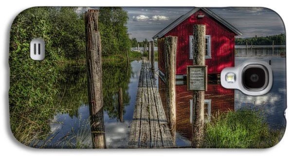 Nature Scene Photographs Galaxy S4 Cases - Fetsund Timber Booms part II Galaxy S4 Case by Erik Brede