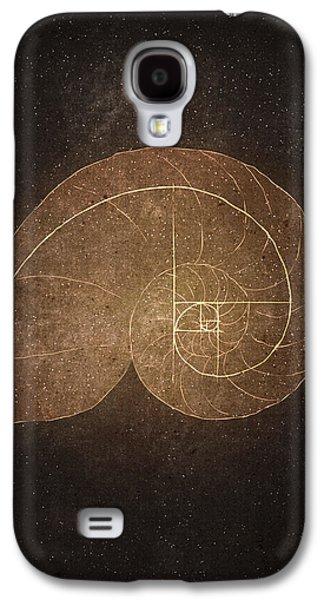 Fibonacci Galaxy S4 Cases - Fibonacci Galaxy S4 Case by Joanna Kleczar