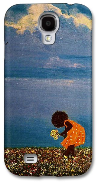 African-american Galaxy S4 Cases - Field of Colors Galaxy S4 Case by Edith Peterson-Watson
