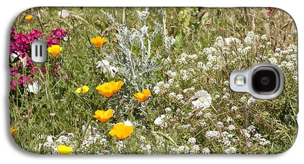 Laura Wrede Galaxy S4 Cases - Field of Flowers Galaxy S4 Case by Artist and Photographer Laura Wrede