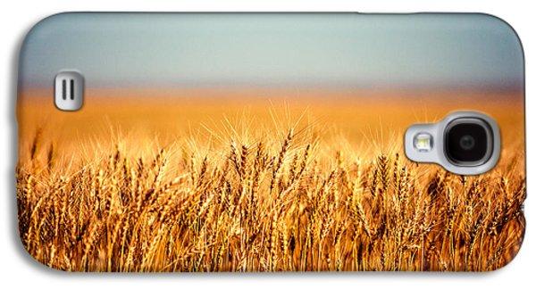 Field Of Wheat Galaxy S4 Case by Todd Klassy