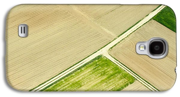Landscapes Photographs Galaxy S4 Cases - Fields in Spring 2 Galaxy S4 Case by Davorin Mance