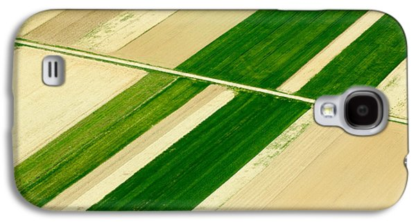 Diagonal Galaxy S4 Cases - Fields in Spring 5 Galaxy S4 Case by Davorin Mance